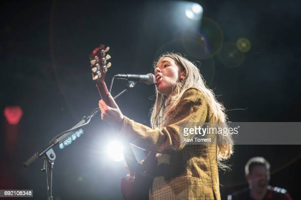 Danielle Haim of Haim performs in concert during day 4 of Primavera Sound 2017on June 3 2017 in Barcelona Spain