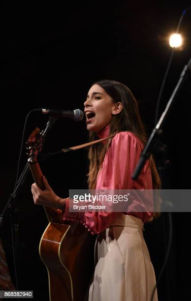 Danielle Haimof the band Haim performs as Equality Now celebrates 25th Anniversary at 'Make Equality Reality' Gala at Gotham Hall on October 30 2017...