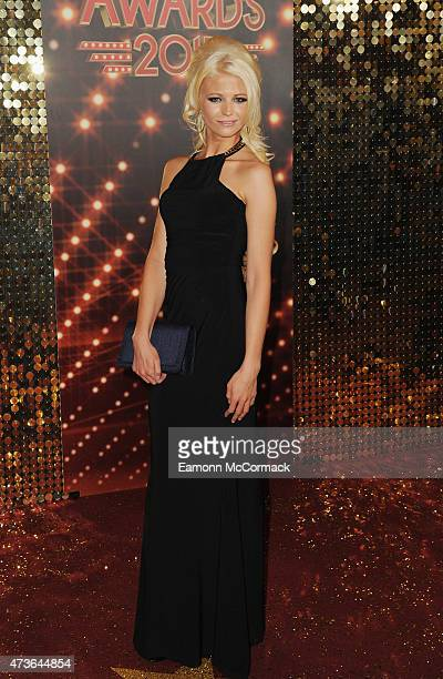 Danielle Harold attends the British Soap Awards at Manchester Palace Theatre on May 16 2015 in Manchester England