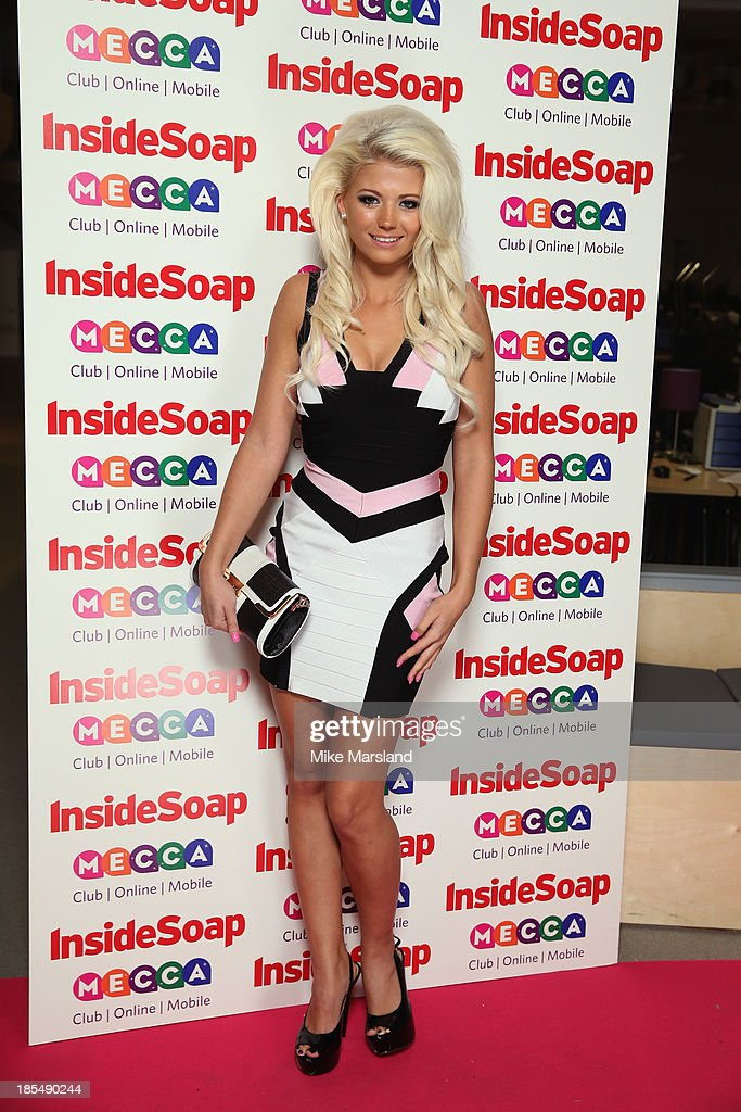 Danielle Harold attends The Inside Soap Awards at The Ministry of Sound on October 21, 2013 in London, England.