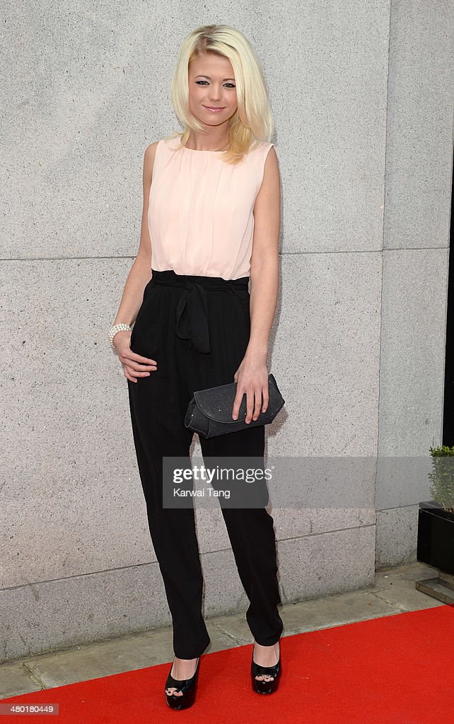 Danielle Harold attends the Tesco Mum of the Year awards at The Savoy Hotel on March 23, 2014 in London, England.