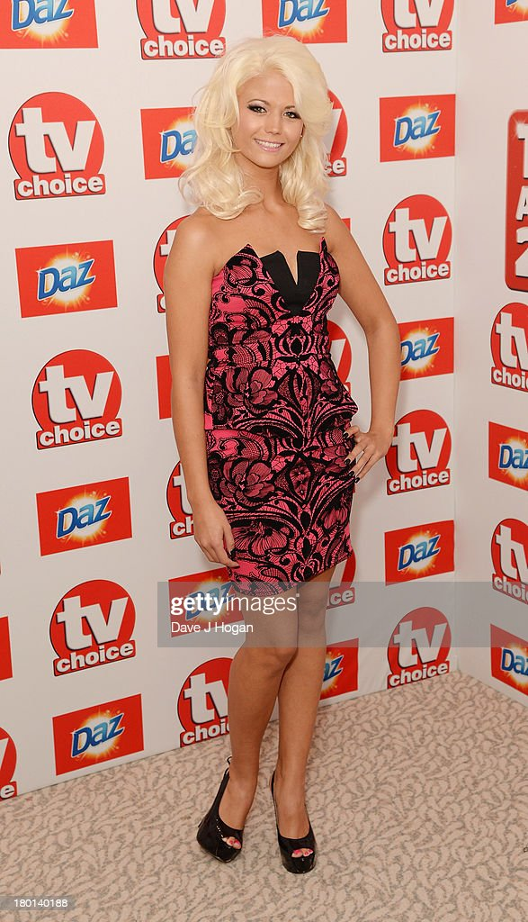 Danielle Harold attends the TV Choice Awards 2013 at The Dorchester on September 9, 2013 in London, England.