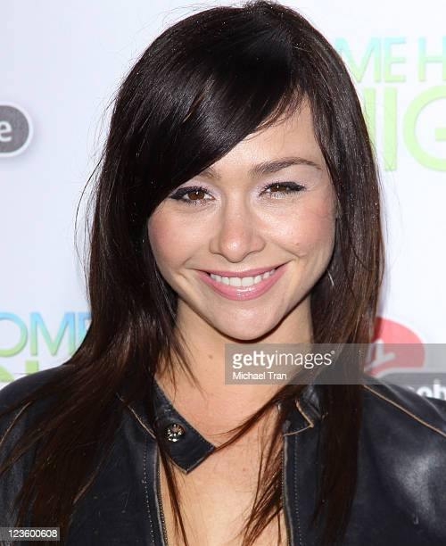 Danielle Harris arrives at the Los Angeles premiere of 'Take Me Home Tonight' held at Regal 14 Cinemas LA Live Downtown on March 2 2011 in Los...