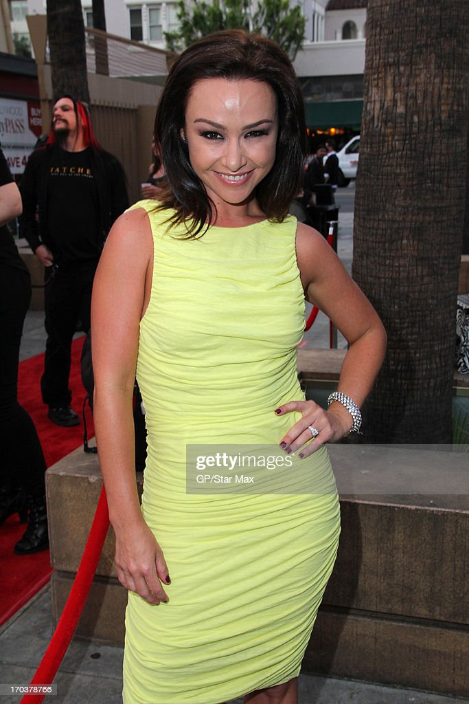 Danielle Harris as seen on June 11, 2013 in Los Angeles, California.