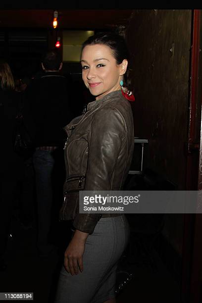Danielle Harris attends the opening night celebration of 'Stake Land' at Vol De Nuit on April 22 2011 in New York City