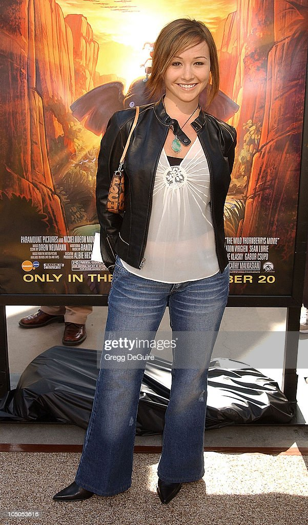 <a gi-track='captionPersonalityLinkClicked' href=/galleries/search?phrase=Danielle+Harris&family=editorial&specificpeople=1543673 ng-click='$event.stopPropagation()'>Danielle Harris</a> during 'The Wild Thornberrys Movie' Premiere at Cinerama Dome in Hollywood, California, United States.