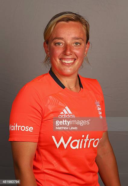 Danielle Hazell of England poses for a portrait at the ECB National Performance Centre on July 10 2014 in Loughborough England
