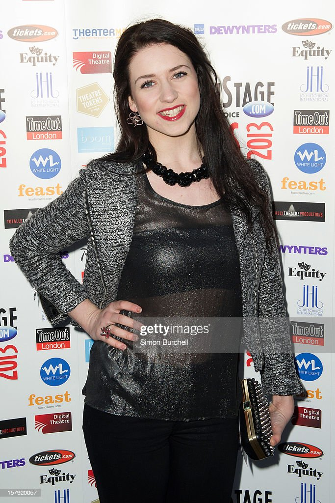 Danielle Hope attends the Whatsonstage.com Theare Awards nominations launch at Cafe de Paris on December 7, 2012 in London, England.