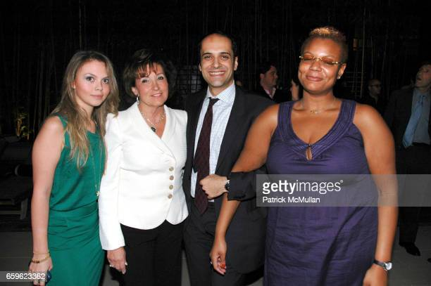 Danielle Kaminsky Joyce Bernstein Iman Bacodari and Amelia Telfer attend JOSH GUBERMAN CORE DEVELOPMENT and Four Hundred HOST LUX 74 TOWNHOME Launch...