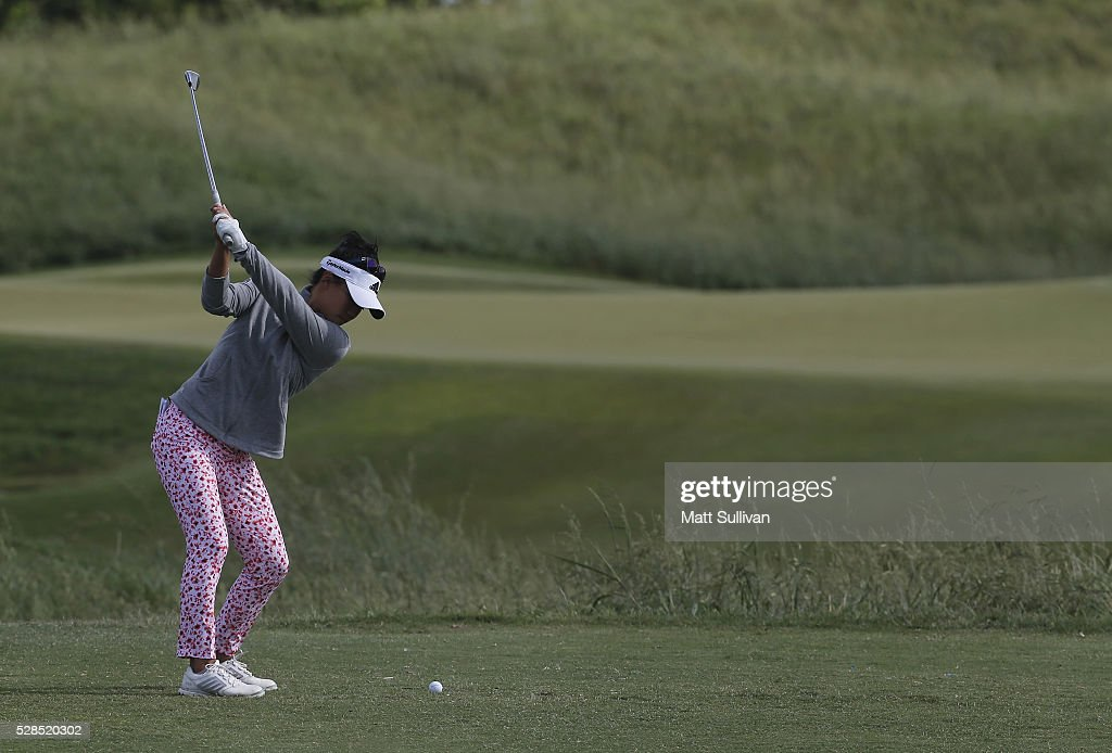 <a gi-track='captionPersonalityLinkClicked' href=/galleries/search?phrase=Danielle+Kang&family=editorial&specificpeople=7088267 ng-click='$event.stopPropagation()'>Danielle Kang</a> hits her tee shot on the second hole during the Yokohama Tire Classic on May 05, 2016 in Prattville, Alabama.