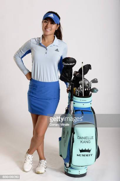 Danielle Kang of the United States poses for a portrait during the KIA Classic at the Park Hyatt Aviara Resort on March 21 2017 in Carlsbad California