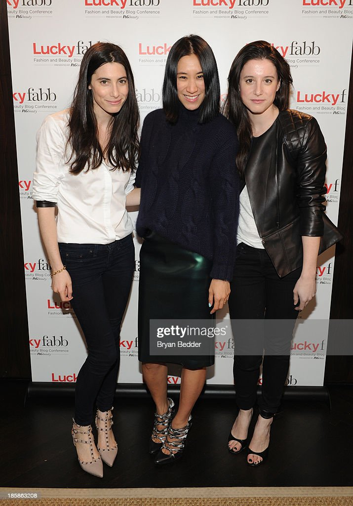 Danielle Kosann, Editor in Chief of Lucky, Eva Chen and Laura Kosann attend Lucky Magazine's Two-Day East Coast