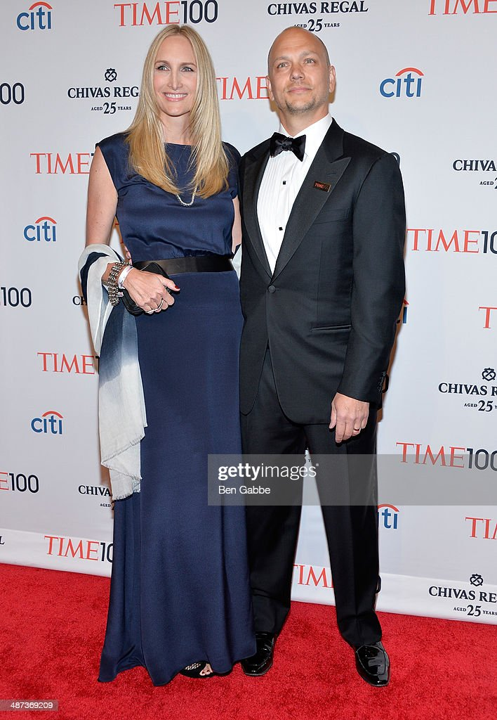 Danielle Lambert and honoree <a gi-track='captionPersonalityLinkClicked' href=/galleries/search?phrase=Tony+Fadell&family=editorial&specificpeople=8578729 ng-click='$event.stopPropagation()'>Tony Fadell</a> attend the TIME 100 Gala, TIME's 100 most influential people in the world, at Jazz at Lincoln Center on April 29, 2014 in New York City.