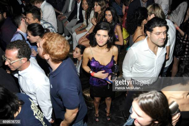 Danielle Levine attends Party at WALL Hosted by VITO SCHNABEL STAVROS NIARCHOS ALEX DELLAL at WALL at the W SOUTH BEACH on December 3 2009 in Miami...