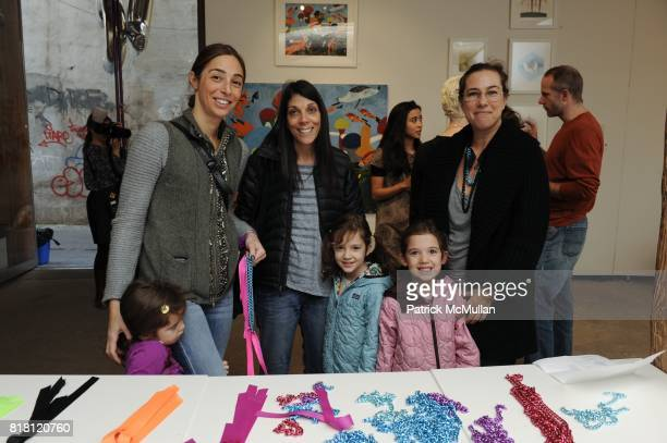 Danielle Levy Lisa Grossman Eve Chaikin and Little Collectors attend Preview Party for LITTLECOLLECTORCOM at Salon 94 Freeman Alley on November 13...