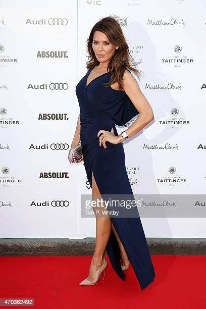 Danielle Lineker arrives at The Old Vic Theatre for a gala celebration in honour of Kevin Spacey as the artistic director's tenure comes to an end on...