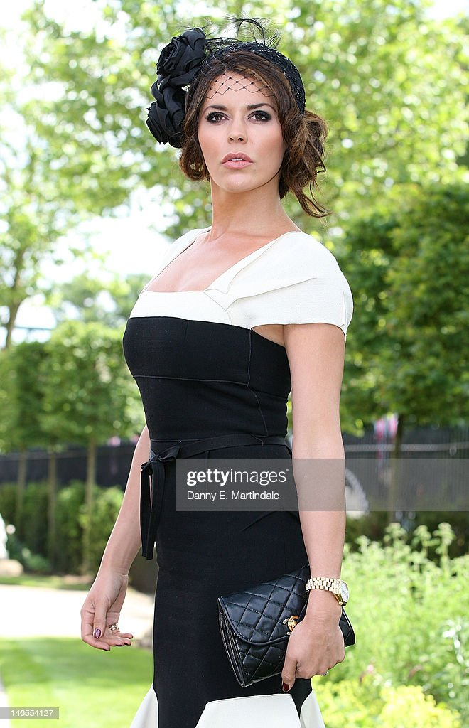 Danielle Lineker attends day one of Royal Ascot at Ascot Racecourse on June 19, 2012 in Ascot, England.