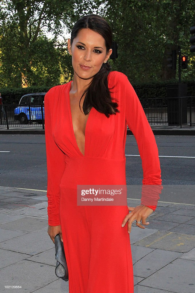 Danielle Lineker attends Fight For Life's Strictly Dinner in aid of Children's cancer charity at Park Lane Hotel on June 15, 2010 in London, England.