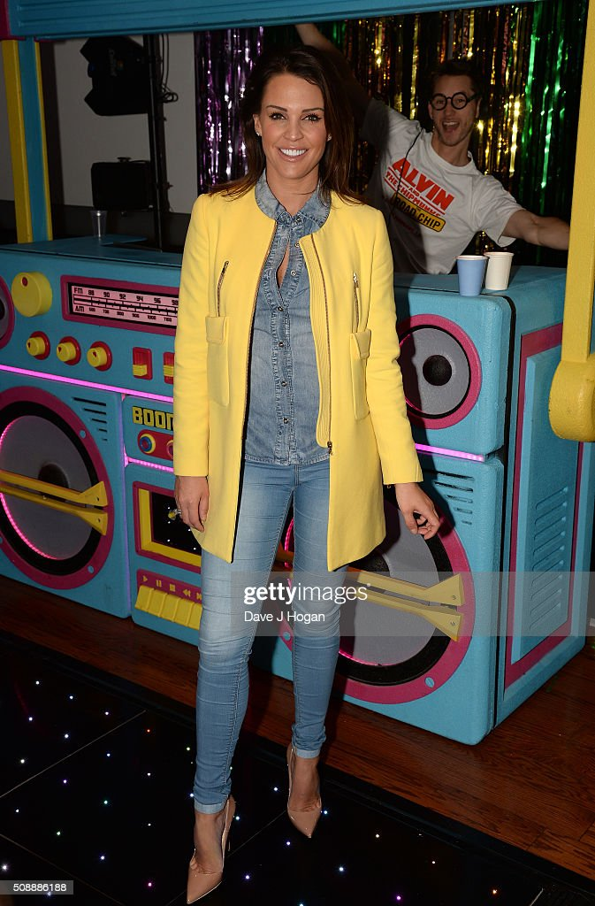 <a gi-track='captionPersonalityLinkClicked' href=/galleries/search?phrase=Danielle+Lloyd&family=editorial&specificpeople=618660 ng-click='$event.stopPropagation()'>Danielle Lloyd</a> attends a gala screening of 'Alvin & The Chipmunks: The Roadtrip' at Vue West End on February 7, 2016 in London, England.