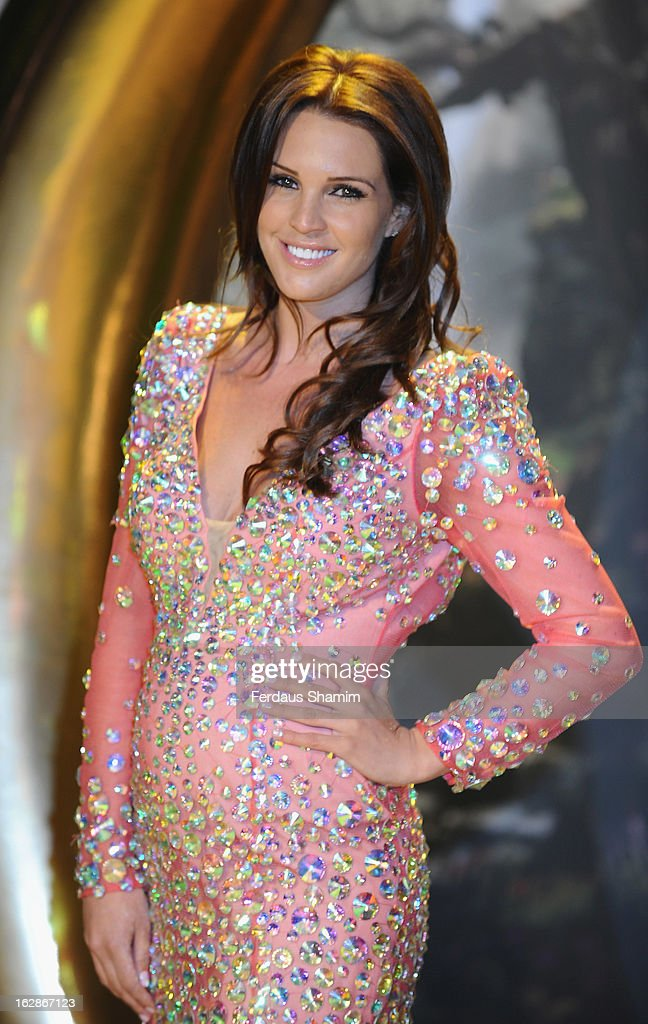 Danielle Lloyd attends the European Premiere of 'Oz: The Great and Powerful' at Empire Leicester Square on February 28, 2013 in London, England.