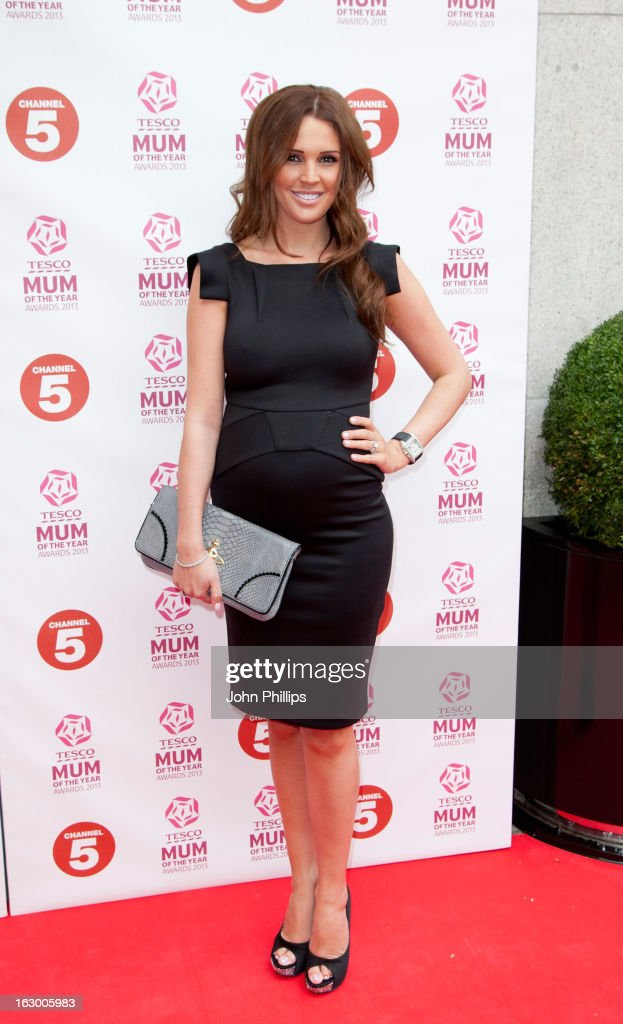 <a gi-track='captionPersonalityLinkClicked' href=/galleries/search?phrase=Danielle+Lloyd&family=editorial&specificpeople=618660 ng-click='$event.stopPropagation()'>Danielle Lloyd</a> attends the Tesco Mum of the Year awards at The Savoy Hotel on March 3, 2013 in London, England.