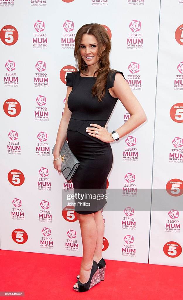 Danielle Lloyd attends the Tesco Mum of the Year awards at The Savoy Hotel on March 3, 2013 in London, England.