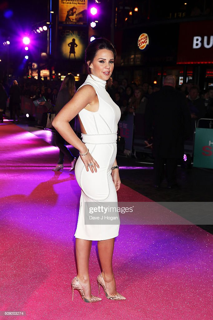 <a gi-track='captionPersonalityLinkClicked' href=/galleries/search?phrase=Danielle+Lloyd&family=editorial&specificpeople=618660 ng-click='$event.stopPropagation()'>Danielle Lloyd</a> attends the UK Premiere of 'How To Be Single' at Vue West End on February 9, 2016 in London, England.
