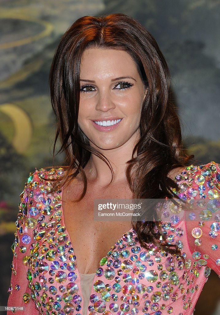 Danielle Lloyd attends the UK Premiere of 'Oz: The Great and Powerful' at Empire Leicester Square on February 28, 2013 in London, England.