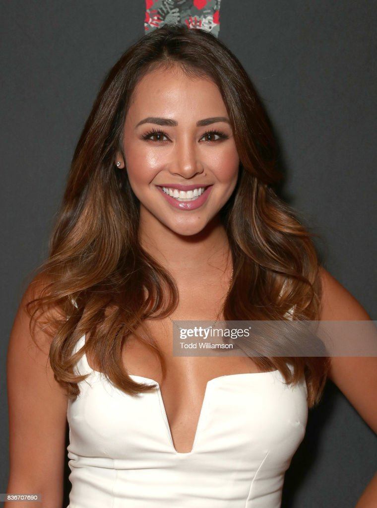 Danielle Lombard attends a 'Bachelor In Paradise' Viewing Party on August 21, 2017 in Los Angeles, California.