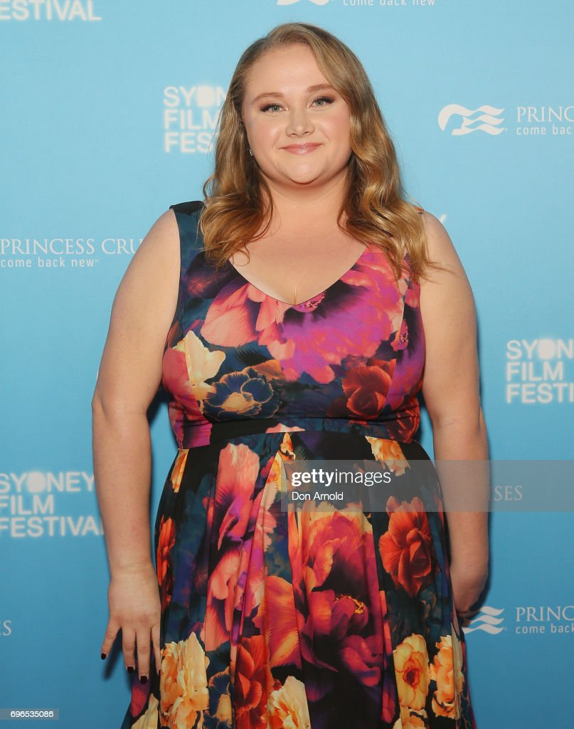 Danielle Macdonald arrives ahead of the Patti Cake$ Australian Premiere during the Sydney Film Festival at State Theatre on June 16, 2017 in Sydney, Australia.
