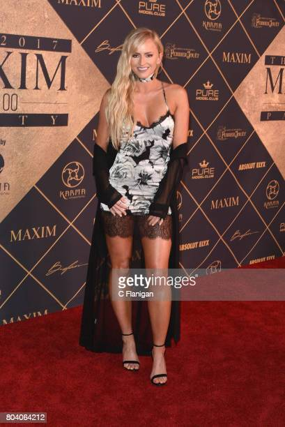 Danielle Moinet arrives at the The 2017 MAXIM Hot 100 Party at Hollywood Palladium on June 24 2017 in Los Angeles California