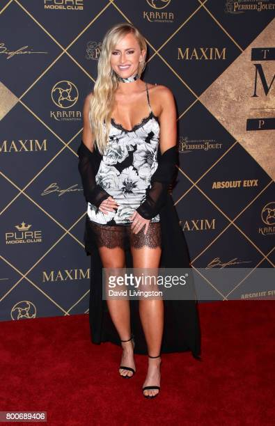 Danielle Moinet attends The 2017 MAXIM Hot 100 Party produced by Karma International at The Hollywood Palladium in celebration of MAXIMÕs Hot 100...