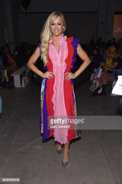 Danielle Moinet attends the Leanne Marshall fashion show during New York Fashion Week at Gallery 2 Skylight Clarkson Sq on September 10 2017 in New...