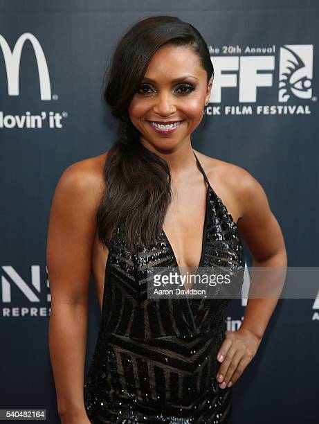 Danielle Nicolet attends American Black Film Festival Opening Night on June 16 2016 in Miami Florida