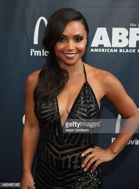 Danielle Nicolet attends American Black Film Festival Opening Night on June 16 2016 in Miami Florida