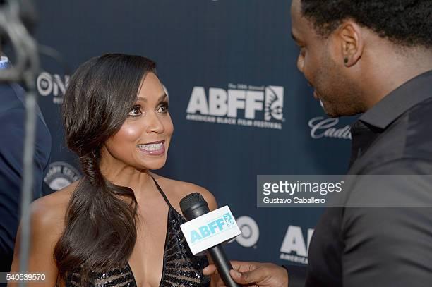 Danielle Nicolet attends American Black Film Festival Opening Night Film 'Central Intelligence' on June 15 2016 in Miami Florida