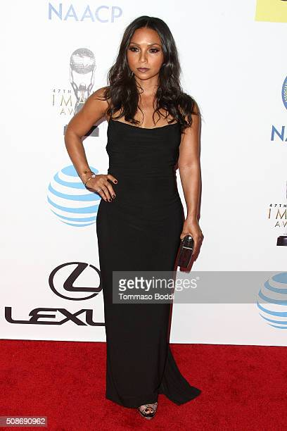 Danielle Nicolet attends the 47th NAACP Image Awards held at Pasadena Civic Auditorium on February 5 2016 in Pasadena California