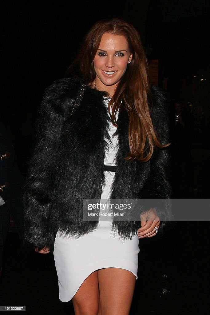 Danielle O'Hara attends as Cirque du Soleil opens its latest show 'Quidam' at the Royal Albert Hall on January 7, 2014 in London, England.