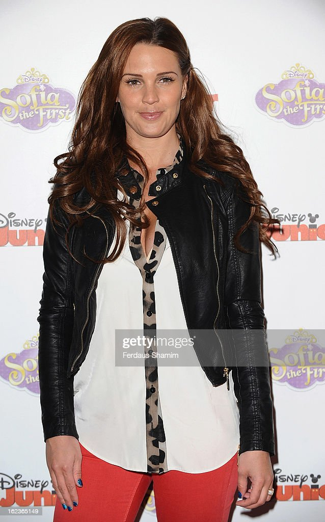 Danielle O'Hara attends the launch screening of Sofia The First at May Fair Hotel on February 22, 2013 in London, England.