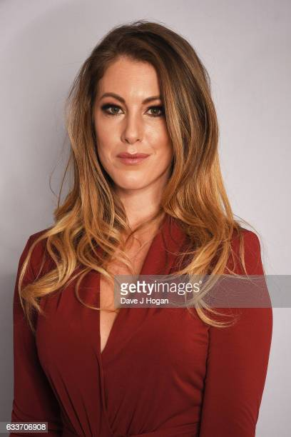 Danielle O'Sullivan attends the Zoom F1 Charity auction on February 3 2017 in London United Kingdom