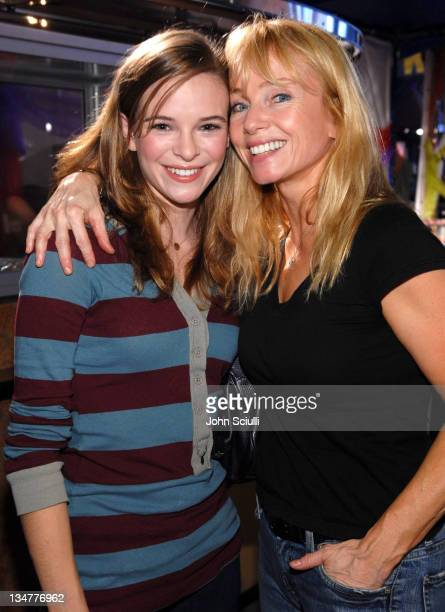 Danielle Panabaker and Rebecca De Mornay during PS Arts Express Yourself November 5 2006 at Barker Hanger in Santa Monica California United States