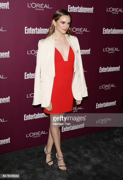 Danielle Panabaker arrives at Entertainment Weekly's 2017 PreEmmy Party held at Sunset Tower Hotel on September 15 2017 in West Hollywood California