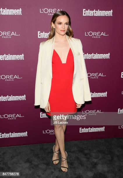 Danielle Panabaker attends the 2017 Entertainment Weekly PreEmmy Party at Sunset Tower on September 15 2017 in West Hollywood California