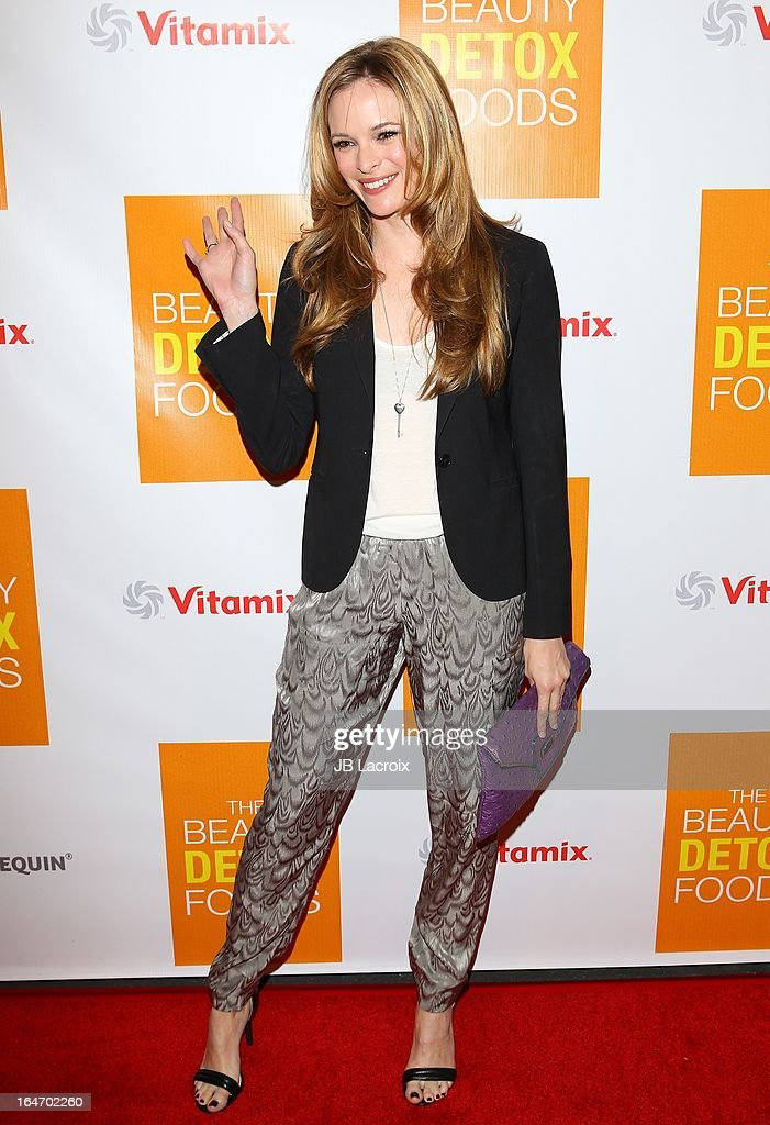 Danielle Panabaker attends the book launch party for 'The Beauty Detox Foods' at Smashbox West Hollywood on March 26, 2013 in West Hollywood, California.