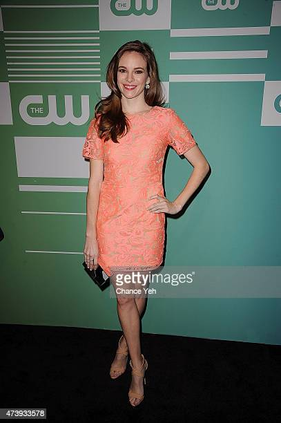 Danielle Panabaker attends The CW Network's New York 2015 Upfront Presentation at The London Hotel on May 14 2015 in New York City