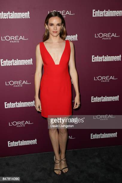 Danielle Panabaker attends the Entertainment Weekly's 2017 PreEmmy Party at the Sunset Tower Hotel on September 15 2017 in West Hollywood California