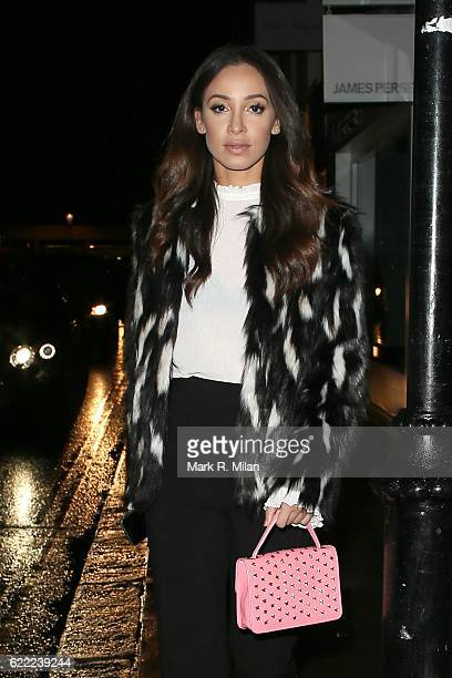 Danielle Peazer attending the 5 Years of Gazelli party on November 10 2016 in London England