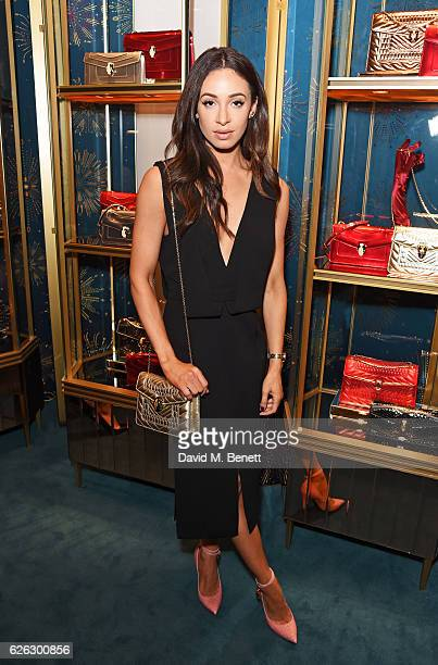 Danielle Peazer attends as Bulgari celebrates the opening of the Selfridges Pop Up ''Wishes Full Of Colour' on November 28 2016 in London England