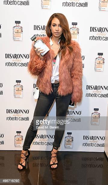 Danielle Peazer attends 'Disaronno Wears Cavalli' celebrating the launch of the new Disaronno Limited Edition bottle at Roberto Cavalli Sloane Street...