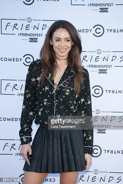 Danielle Peazer attends launches Comedy Central's Friendfest at Haggerston Park on August 23 2016 in London England